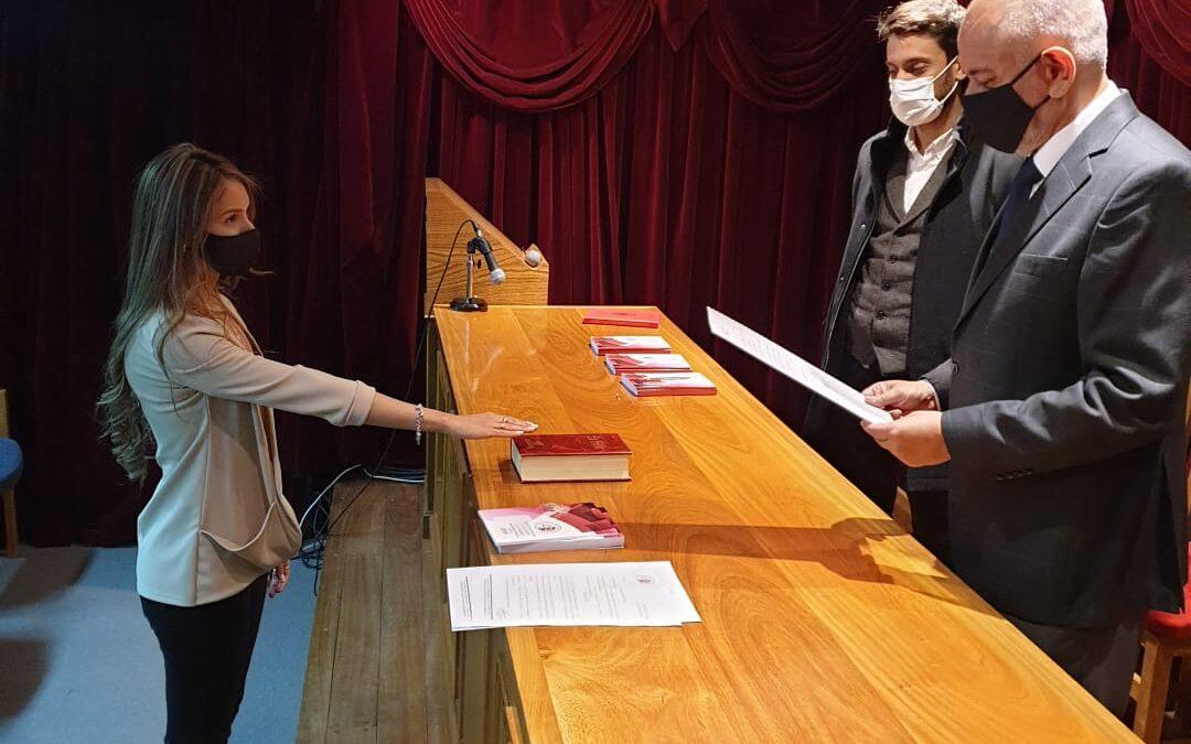 Nuevas matriculadas prestaron juramento en el CAPSL